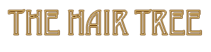 The Hair Tree Text Logo